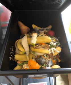 Photo of Powershop office food waste