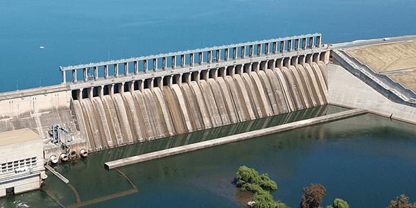 Photo of Hume hydro dam