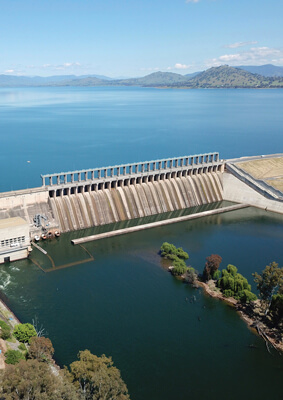Hume Hydro power station