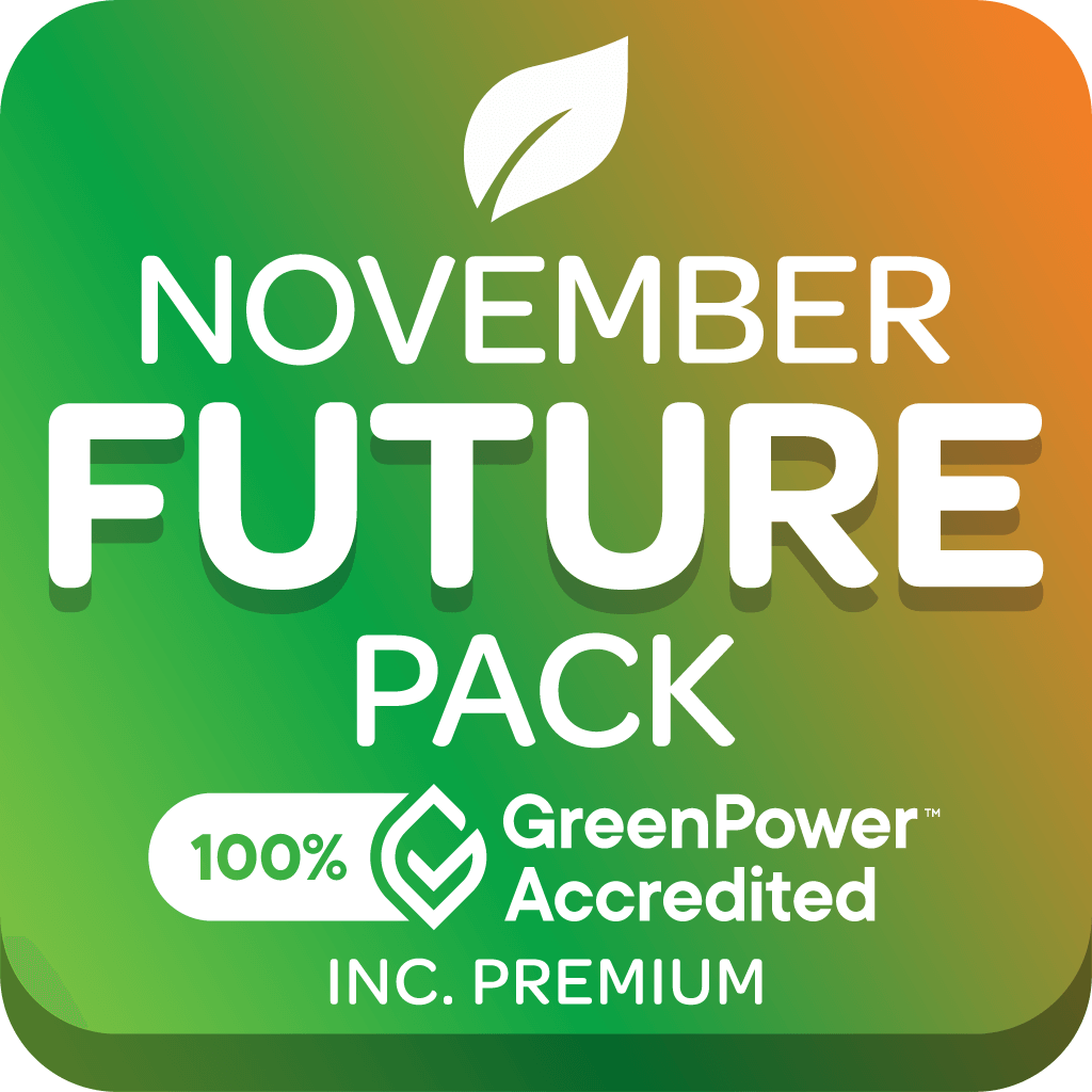 Graphic of GreenPower accredited Future pack